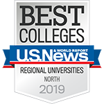 U.S. News and World Report - Best Colleges Regional Universities North - 150x150