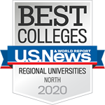 US News 2020 ranking badge