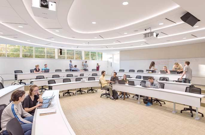 AIC Tiered Classroom